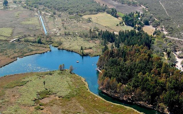 La Laguna de la Media Luna lugar de gran valor ecológico