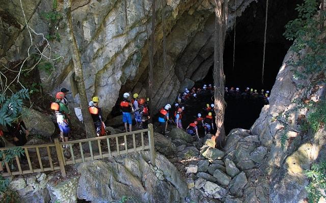 Circuito Huasteca Potosina Cuatro Días, visita el cenote de La Cueva del Agua