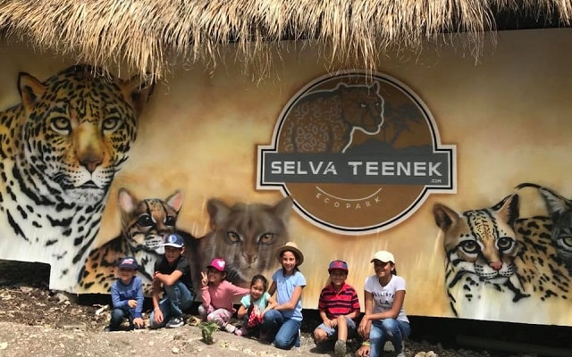 Circuito Huasteca Potosina Cuatro Días, visita a Ecoparque Selva Tenek