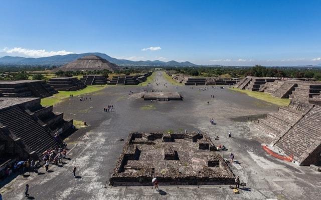 Danza Prehispánica más Visita a Teotihuacán, visitarás la Zona Arqueológica