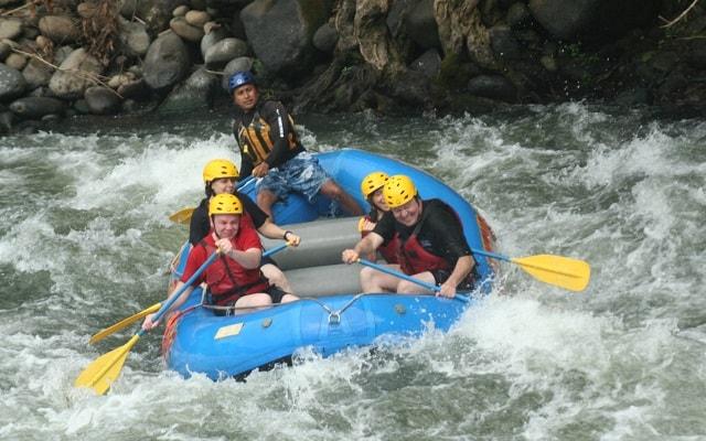 De Aventura por Veracruz,  y si te gustan las emociones fuertes el rafting es lo tuyo