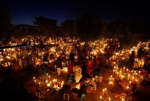 Dia de Muertos en Santa Maria Huatulco en Huatulco