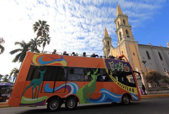 Tour Fun Bus Mazatlán recomendado
