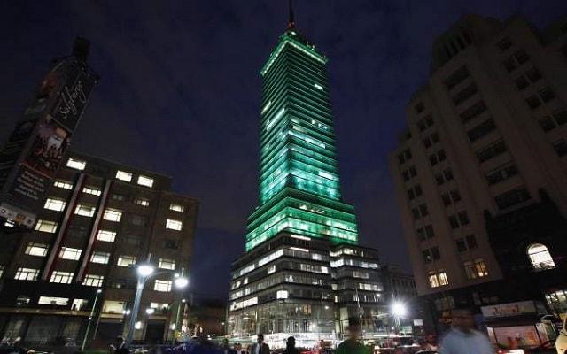 Garibaldi de Noche, el restaurante se encuentra en el piso 41 de la Torre Latinoamericana