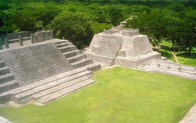 Hacienda Uayamón y Edzná Tour, zona arqueológica