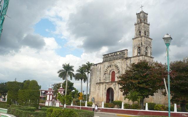 Hecelchakán, Bécal y Calkiní, Iglesia San Luis Obispo