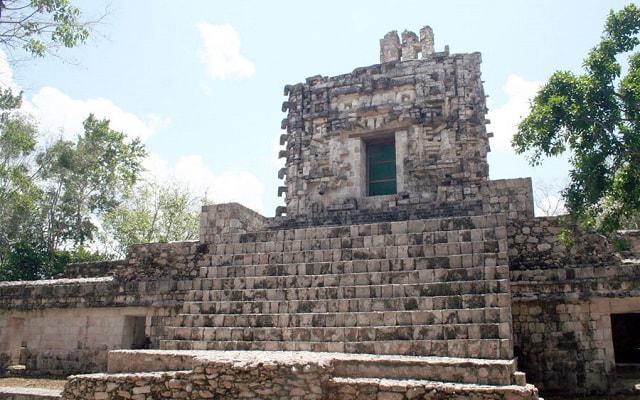 Hochob, Dzibilnocac y Tabasqueno: Ruta Chenes, zona arqueológica El Tabasqueño