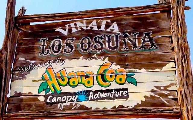 Huana Coa Canopy Adventure, visitarás la Vinata Los Osuna