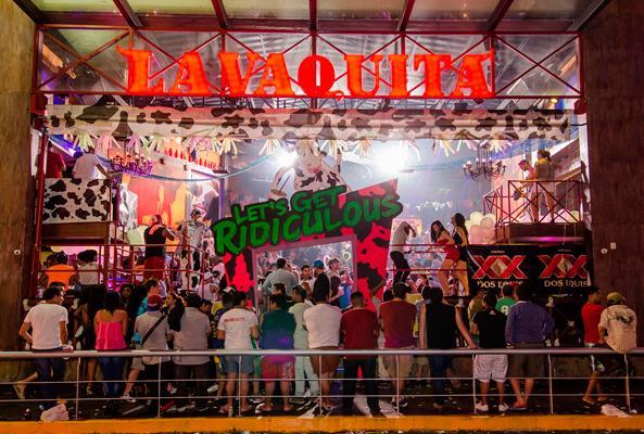 Promoción para mexicanos La Vaquita Barra Libre Cancún