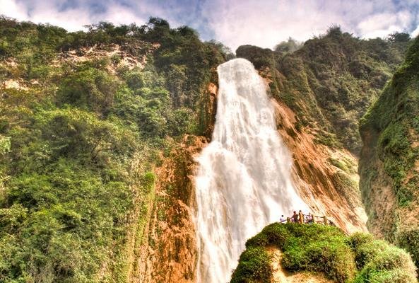 Lagos de Montebello, Cascadas El Chiflón en Chiapas