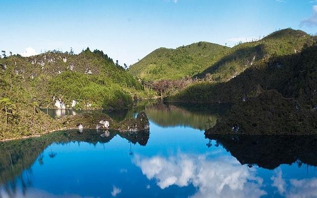 Lagos de Montebello, Cascadas El Chiflón, maravíllate del lago Pojoj