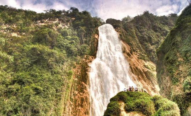 Lagos de Montebello, Cascadas El Chiflón