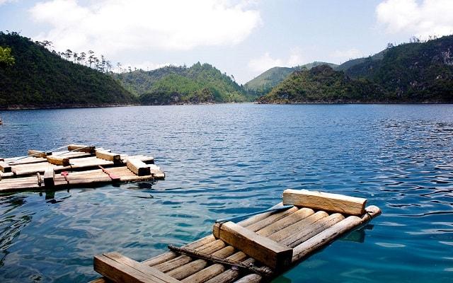 Lagos de Montebello, Cascadas El Chiflón, Lago Tiziscao