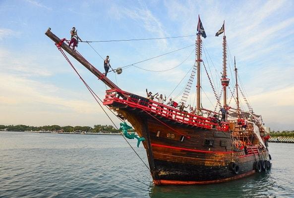 Marigalante Barco Pirata Puerto Vallarta en Puerto Vallarta