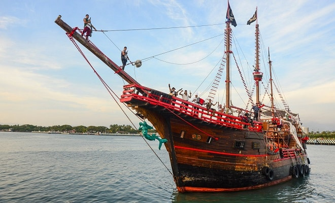 Marigalante Barco Pirata Puerto Vallarta
