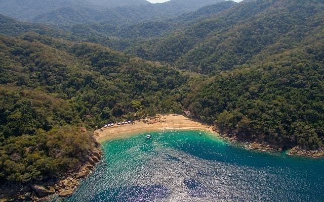 Marigalante Barco Pirata Puerto Vallarta, te impresionará la belleza de Majahuitas