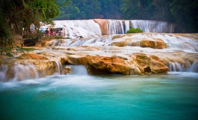 Cascadas de Agua Azul, Misol-Há y Palenque