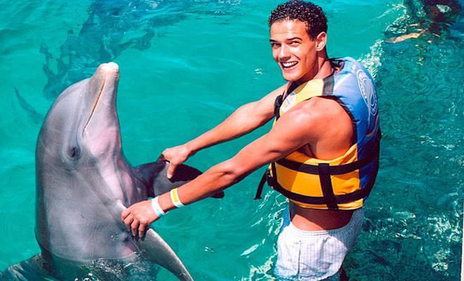 Nado con Delfines Cancún-Isla Mujeres