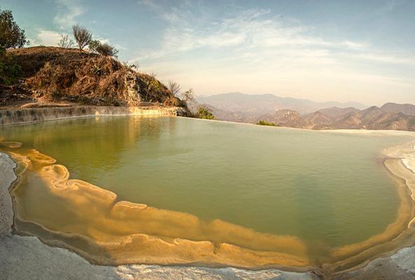 Árbol del Tule, Hierve el Agua, Mitla en Oaxaca