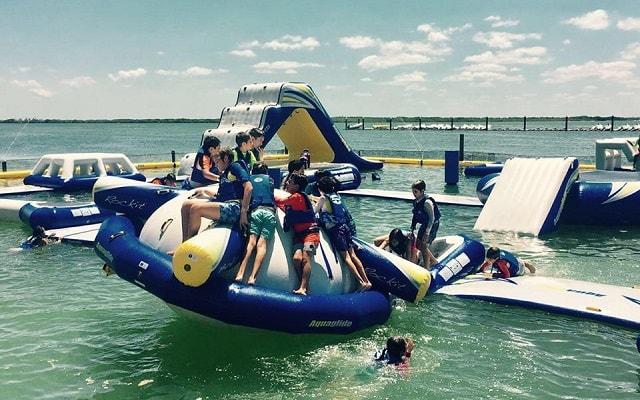 Parque Acuático Inflable Aquaworld, los niños se divertirán al máximo