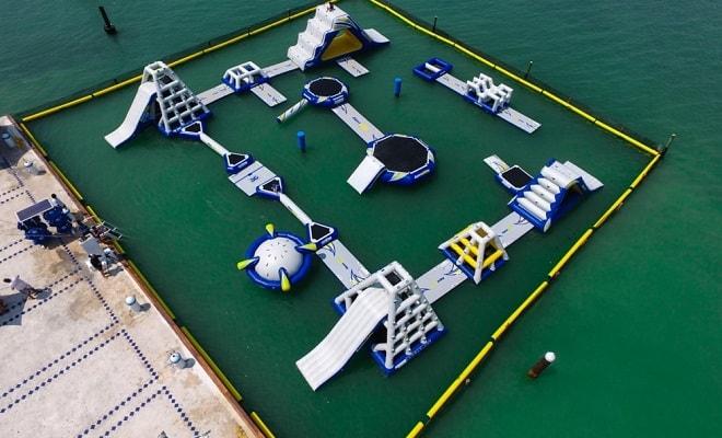Parque Acuático Inflable Aquaworld