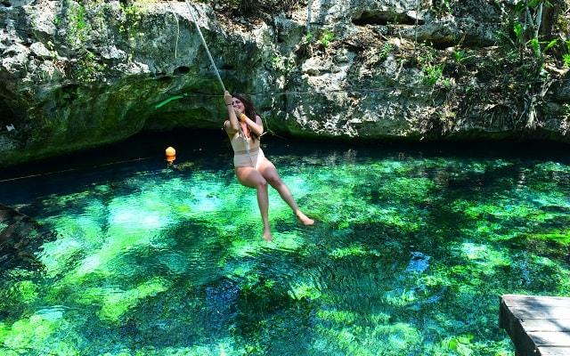 Paseo en Cuatrimoto y Cenote en Riviera Maya, hermoso cenote