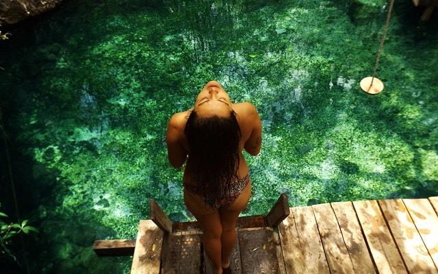 Paseo en Cuatrimoto y Cenote en Riviera Maya, refrescante