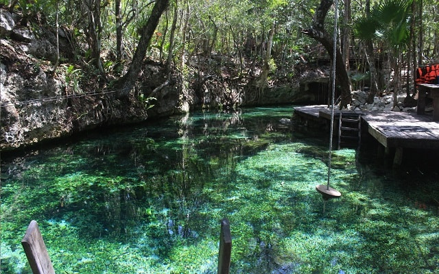 Paseo en Cuatrimoto y Cenote en Riviera Maya, aguas cristalinas
