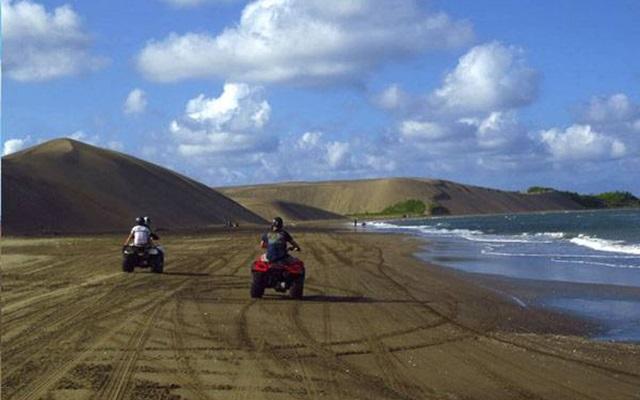 Paseo en Moto por Dunas de Chachalacas, velocidad  y adrenalina