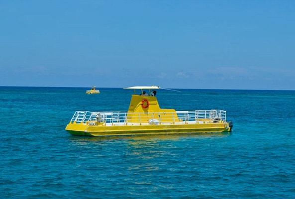 Paseo en Submarino en Cancún en Cancún