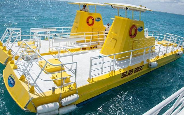 Paseo en Submarino en Cancún, podrás abordar un Sub See Explorer