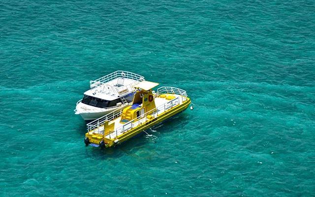 Paseo en Submarino en Cancún, abordarás el Sub See en la zona del arrecife