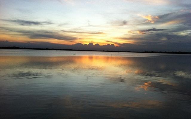 Paseo por Laguna en Mandinga, verás bellos atardeceres