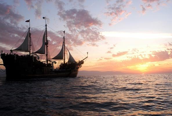 Aventura Pirata en Puerto Vallarta en Puerto Vallarta