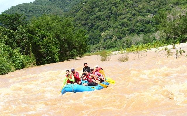 Rafting en Río Copalita Huatulco Nivel 2, será un recorrido lleno de adrenalina