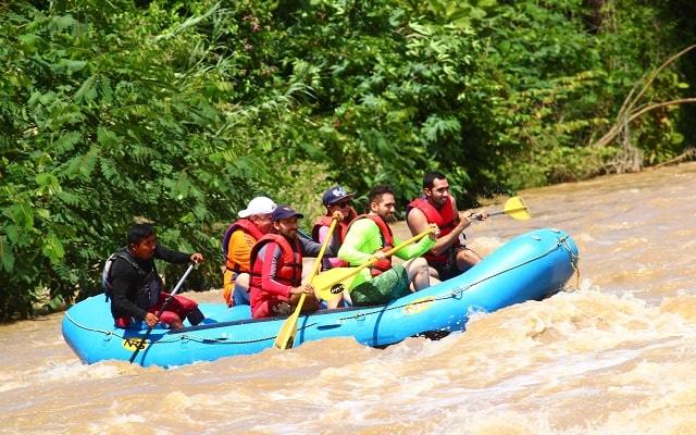 Rafting en Río Copalita Huatulco Nivel 2, una experiencia inolvidable