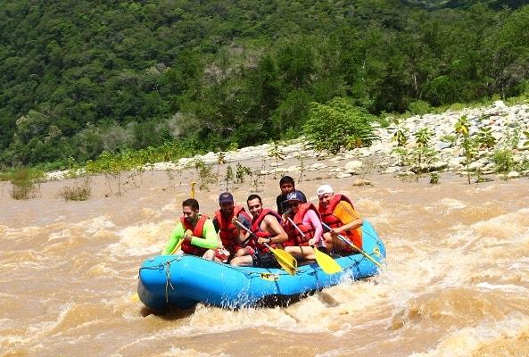 Rafting en Río Copalita Huatulco Nivel 2 en Huatulco