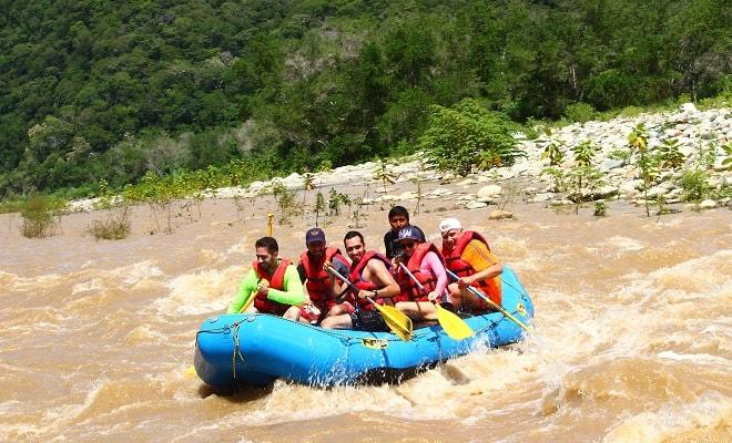 Rafting en Río Copalita Huatulco Nivel 2