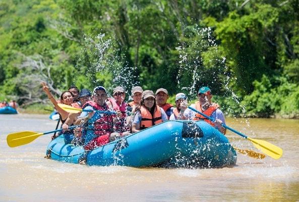 Rafting en Rio Copalita Huatulco y Snorkel en Huatulco