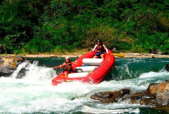 Rafting en Río Copalita Huatulco Nivel 1