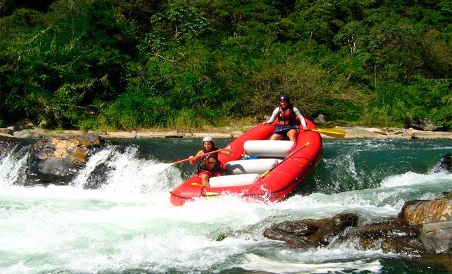 Rafting en Rio Copalita Huatulco Nivel 1