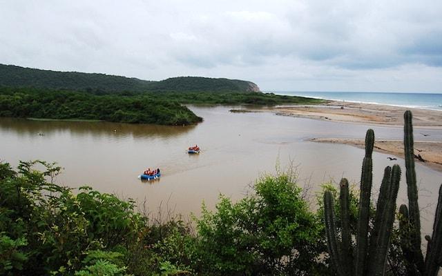 Rafting en Rio Copalita Huatulco Nivel 1, disfruta del panorama