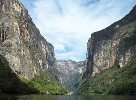 Vista del Cañón del Sumidero