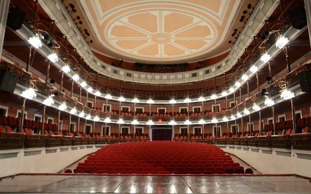 Recorrido en Centro Histórico de Mazatlán, teatro