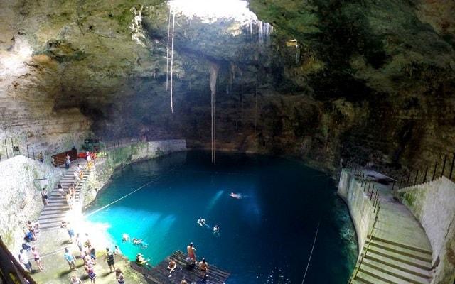 Recorrido por Yucatán: Las Coloradas, Río Lagartos y más, conocerás la hermosura del cenote Hubiku