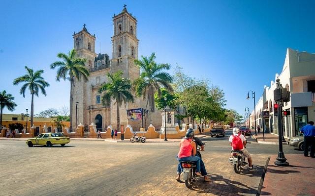 Recorrido por Yucatán: Las Coloradas, Río Lagartos y más, vistas panorámicas de Valladolid