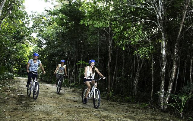 Si deseas además un paseo en bicicleta elige la opción Plus