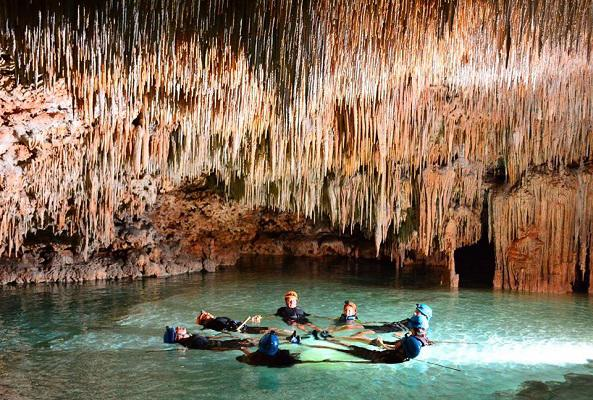 Río Secreto en Riviera Maya