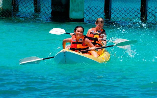 Podrás practicar snorkel