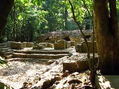 Las ruinas de Palenque